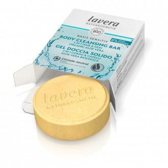lavera Basis Tuhý sprchový gel a šampon 2v1 50 g