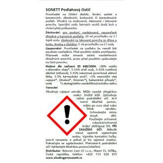 SONETT Podlahový čistič 500 ml