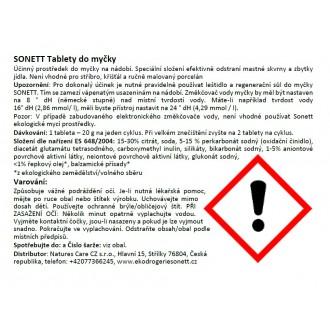 SONETT Tablety do myčky (800 ks) 16 kg